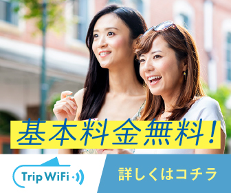 【Trip Wifi】基本料金無料で国内外で使えるお手軽WiFiビックバン