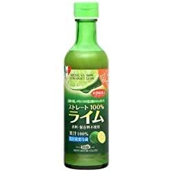 すごいメキシコ産ライム果汁290ml ストレート100%果汁 香料・保存料不使用