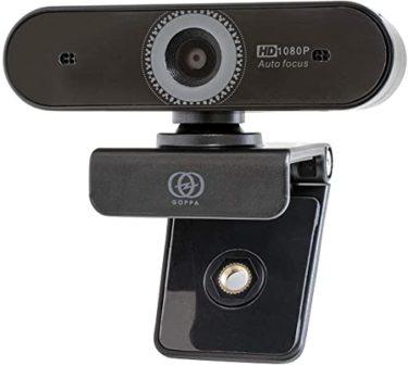 GOPPA ウェブカメラ オートフォーカス機能搭載 フルHD 200万画素 1920×1080対応 マイク内蔵 GP-UCAM2FA/E力を鍛える