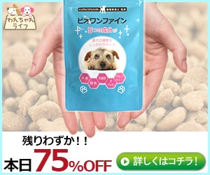 小型犬用スキンケアサプリ【ビオワンファイン】生活